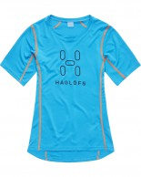 Haglöfs Intense Logo Tee Women, blå