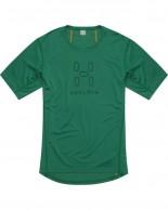 Haglöfs Intense Logo Tee, men, grön