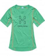 Haglöfs Intense Logo Tee Women, grön