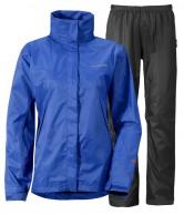 Didriksons Main Womens Set, regnkläder, blå