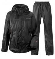 Didriksons Main Boys Set, regnkläder, svart