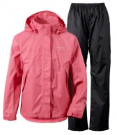 Didriksons Main Girls Set, regnkläder, pink