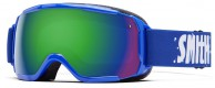 Smith Grom junior skibrille, cobalt