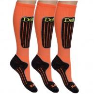 Deluni skidstrumpor - 3 pak, orange