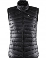 Haglöfs Essens III Down Vest Women, svart