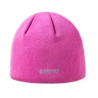 Kama stickad mössa med Gore-Tex, pink