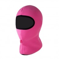 Kama Kids Fleece Skidmask, barn, rosa