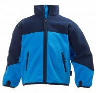 Helly Hansen K Fleece Jacket till barn och junior, blå/mörk blå