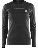 Haglöfs Actives Blend Roundneck Women, svart