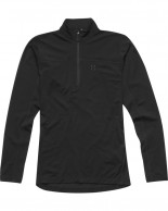 Haglöfs Actives Merino II Zip Top Women, svart