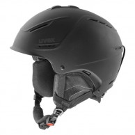 Uvex p1us skihjelm, svart