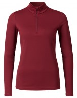 Kjus Ladies Feel Halfzip, baselayer, röd