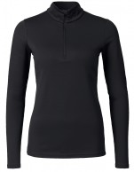 Kjus Ladies Feel Halfzip, baselayer, svart