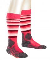 Falke SK2 Trend  skidstrumpor, barn, röd