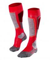 Falke SK2 skidstrumpor, kvinnor,röd