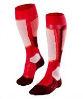 Falke SK2 Wool skidstrumpor, kvinnor, röd
