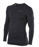 Falke Maximum Warm Longsleeved Shirt Tight Fit, herr, svart