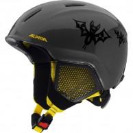Alpina Carat LX,  junior skidhjälm, svart/gul