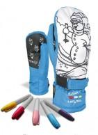 Level Pop-Art JR Mitt, vantar, blå