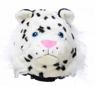 CrazeeHeads hjälmcover, Zippy The Snow Leopard