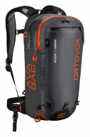 Ortovox Ascent 22 ABS AVABAG, svart