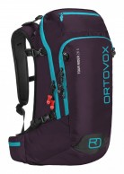 Ortovox Tour Rider 28 S, tur/skid ryggsäck, aubergine