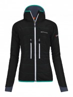 Ortovox Swisswool Light Tec Lavarella Jacket W, svart