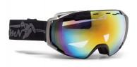 Demon Storm skidglasögon, svart/grå