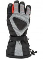 4F/Outhorn Hydropile herr skidhandske, svart/grå