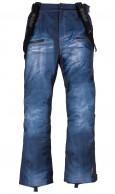 Kilpi Jeanster-M, herr skidbyxor, jeans look, blå