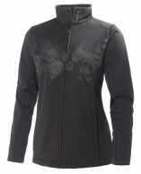 Helly Hansen W Grapich fleece jacket, skidtröja, dam, Svart