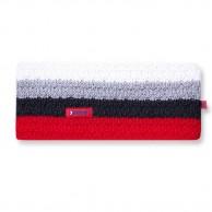 Kama Alpine pannband, med ränder, Rött