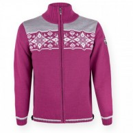 Kama Nordiska sweater med Windstopper, Bordeaux
