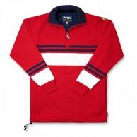 Kama stickad tröja med Gore Windstopper, Rött
