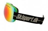 Demon Overview skidglasögon, Grön - Skisport edition