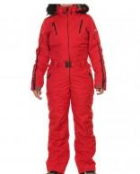 DIEL Ski Spirit dam skidoverall, röd