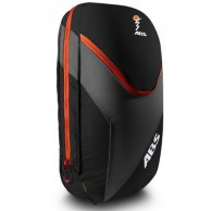 ABS Vario 18 Zip On, väska för ryggsäck, svart/orange