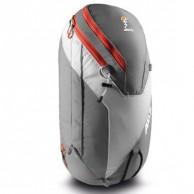 ABS Vario 24 Zip On, väska för ryggsäck, grå/orange
