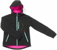 Typhoon Ludo JR, softshell jacka, flicka, svart