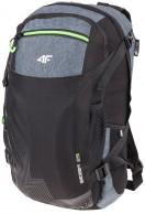 4F Sierra 25L ryggsäck, Svart