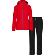 Weather Report Siri, regnkläder, röd, dam