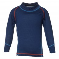 Isbjörn Husky Sweater Baselayer barn, navy