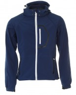 Typhoon Poker, softshell jacka, herr, navy