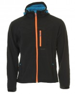 Typhoon Poker, softshell jacka, herr, svart