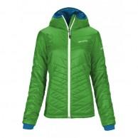 Ortovox Swisswool Jacket Piz Bernina W, grön