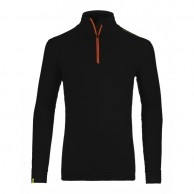 Ortovox Merino Ultra Net Long Sleeve M, svart
