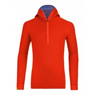 Ortovox Merino Ultra Net Hoody M, orange