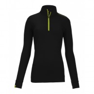 Ortovox Merino Ultra Net Long Sleeve W, svart