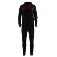 Mons Royale The Monsie One Piece, skidunderställ, Burgundy Black Birdseye