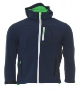 Typhoon Ludo JR, softshell jacka, pojke, navy